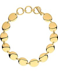 Links of London | Metallic Grace 18ct Yellow Gold Vermeil Bracelet | Lyst