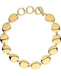 Links of London - Metallic Grace 18ct Yellow Gold Vermeil Bracelet - Lyst