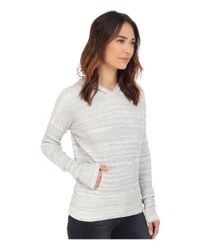 Mod-o-doc - Gray Spacedyed Thermal Pullover Hoodie - Lyst