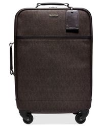 Michael Kors | Brown Michael Jet Set Travel Signature Suitcase | Lyst