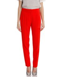 Raoul - Red Track Waist Crepe Pant - Lyst