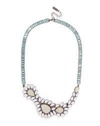 BaubleBar | Metallic Asymmetrical Ivy Collar | Lyst