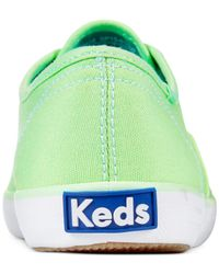 Keds - Green Women'S Champion Oxford Sneakers - Lyst