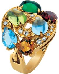 BVLGARI | Blue Astrale 18kt Yellow-gold | Lyst