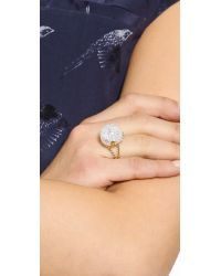 Aurelie Bidermann - Metallic Lakotas Ring - Gold - Lyst