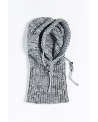 Bickley + Mitchell   Gray X Uo Hooded Scarf for Men   Lyst