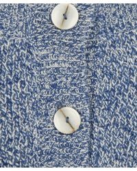 8a033b4a76f7 Lyst - A.P.C. Navy Cherbourg Space Dye Baby Camel Jumper in Blue