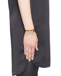 Toga - Metallic 'stick' Brass Cuff - Lyst