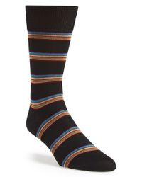 Paul Smith - Black Stripe Socks for Men - Lyst