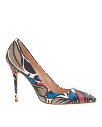 J.Crew - Multicolor Roxie Printed Leather Pumps - Lyst