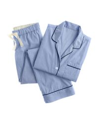 J.Crew   Blue Vintage Pajama Set   Lyst