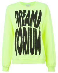 Aries - Yellow 'dreamatorium' Sweater - Lyst