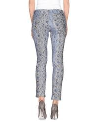 Ermanno Scervino - Blue Casual Pants - Lyst