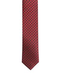 The Kooples | Red 4cm Houndstooth Silk Jacquard Tie for Men | Lyst