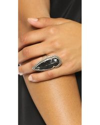 Pamela Love | Black Arrowhead Ring | Lyst