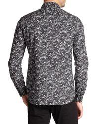 The Kooples | Multicolor Floral Print Cotton Shirt for Men | Lyst