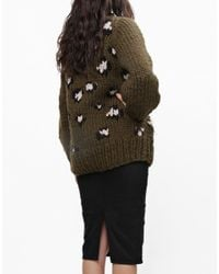 Wool And The Gang | Natural Jungle Boogie Sweater | Lyst