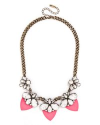 BaubleBar - Pink Paradise Persimmon Collar - Lyst