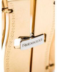 Rebecca | Metallic Wavy Flat Bracelet | Lyst