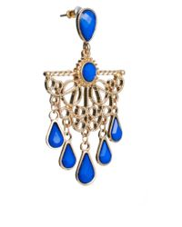 ASOS - Multicolor Pop Filigree Chandelier Earring - Lyst