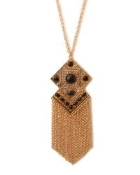 Forever 21 | Metallic Old World Pendant Necklace | Lyst