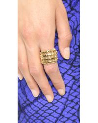 Aurelie Bidermann - Metallic Marella Ring - Lyst