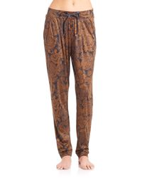 Hanro - Brown Mona Lisa Long Pants - Lyst