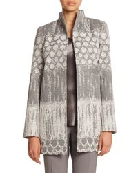 Lafayette 148 New York - Multicolor Destiny Woven Valina Coat - Lyst