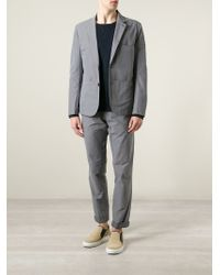 Paul Smith | Gray Regular Fit Trousers for Men | Lyst