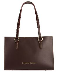 Dooney & Bourke | Brown Montecito Janette Shopper | Lyst