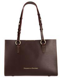 Dooney & Bourke - Brown Montecito Janette Shopper - Lyst