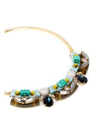 J.Crew | Multicolor Lucite-and-crystal Collar Necklace | Lyst