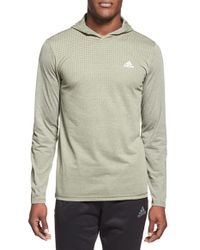 Adidas | Green Climacool Aeroknit Training Hoodie for Men | Lyst