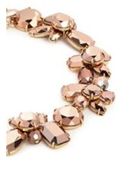 J.Crew | Pink Crystal Cluster Necklace | Lyst
