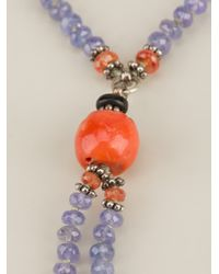 Aaron Jah Stone - Multicolor Arusha Necklace - Lyst