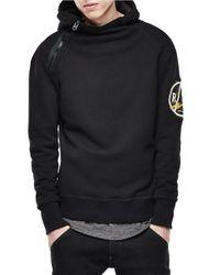 G-Star RAW - Black Bauchan Long Sleeved Hoodie for Men - Lyst
