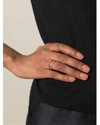 Vita Fede - Pink Double Ring - Lyst