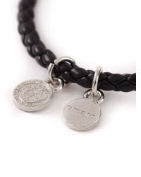 DIESEL | Black 'Altyse' Bracelet for Men | Lyst