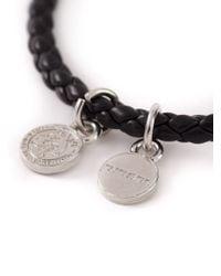DIESEL - Black 'Altyse' Bracelet for Men - Lyst