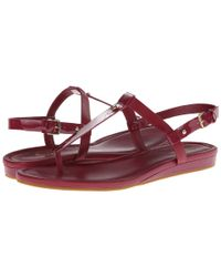 Cole Haan - Red Boardwalk Thong - Lyst