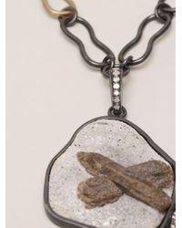 Kelly Wearstler   Gray 'roxbury' Pendant Necklace   Lyst