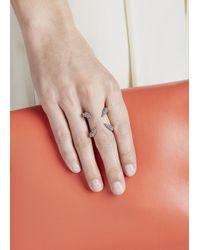 Katie Rowland - Pink 18 Karat Rose Gold Vermeil Ring - Lyst