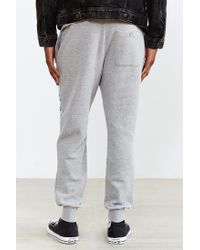 Stussy | Gray Vibe Fleece Jogger Sweatpant for Men | Lyst