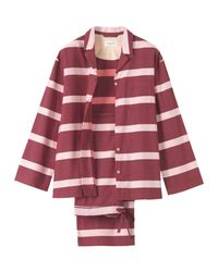 Toast | Purple Stripe Pyjama | Lyst