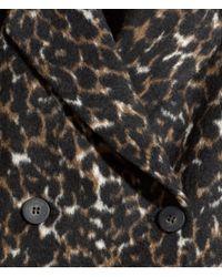 H&M - Multicolor Patterned Coat - Lyst
