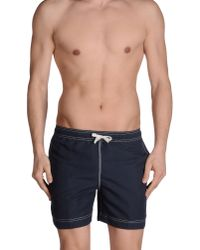 Timberland - Blue Swimming Trunk for Men - Lyst