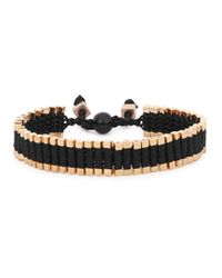 Vitaly | Metallic Arma Gold Tone Link Bracelet for Men | Lyst
