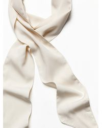 Free People - Natural High Street Solid Skinny Scarf - Lyst