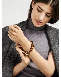 BaubleBar | Metallic Blok Link Bracelet | Lyst