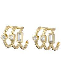 Elizabeth and James | Yellow Roni Hoop Earrings | Lyst